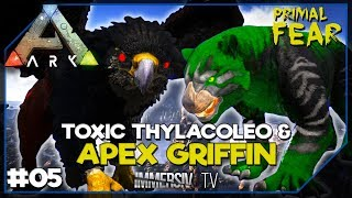 APEX GRIFFIN  TOXIC THYLACOLEO - ARK Mods Primal Fear FR 05