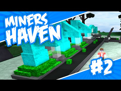 Miners Haven #2 - FREE RP MACHINE (Roblox Miners Haven)