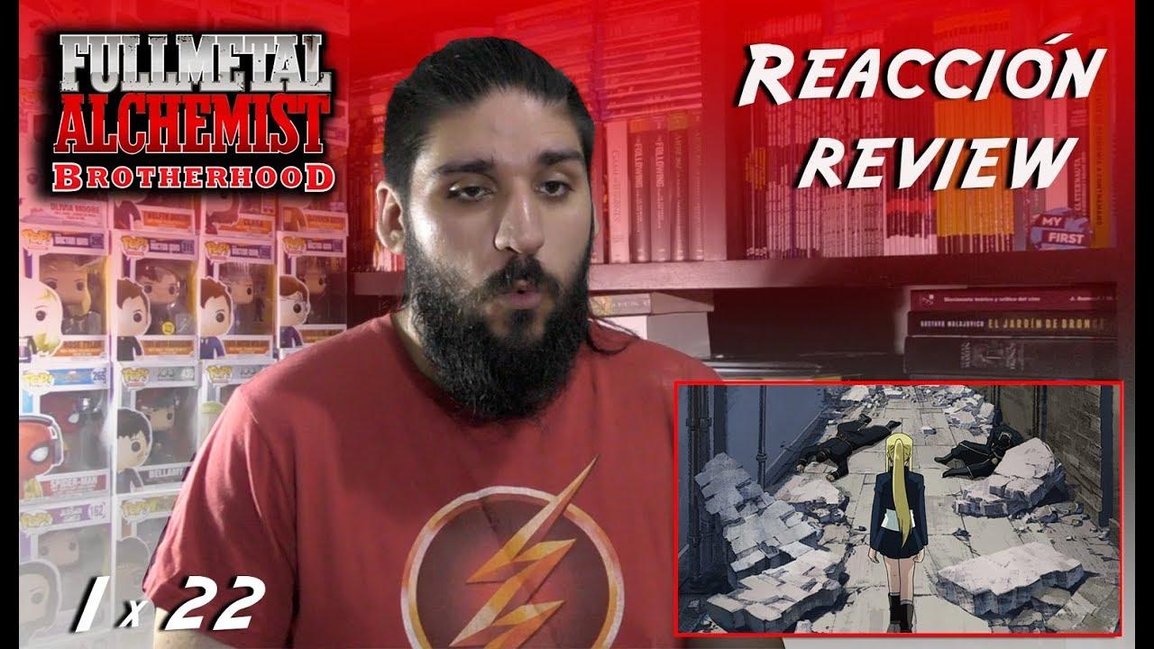 "Fullmetal Alchemist: Brotherhood 1x22: ""Tooku no senaka ..."