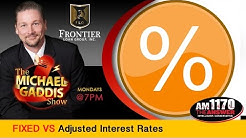 Reverse Mortgage  Fixed vs Adjustable Interest rates