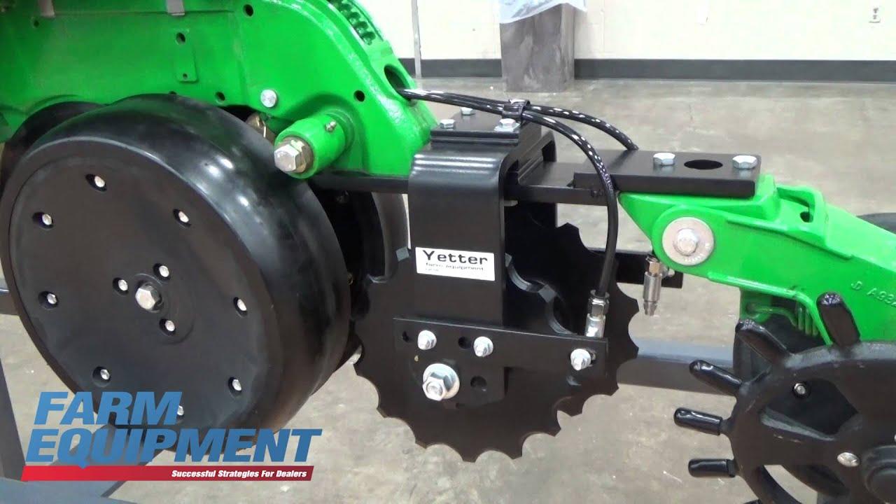 Yetter Showcases 2968 Dual Placement Fertilizer Wheel