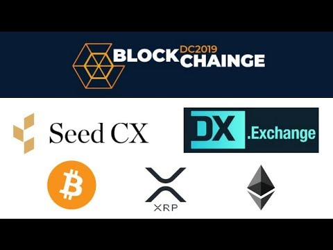 BlockChainge DC 2019 - SEED CX Institutional Crypto Wallet - Japan Exchanges - DX Exchange Marketing