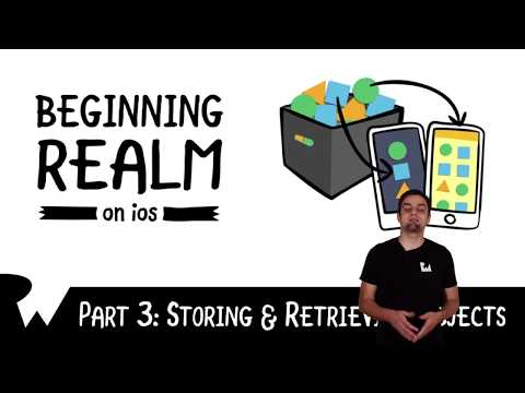 Storing And Retrieving Objects - Beginning Realm On IOS - Introduction - Raywenderlich.com
