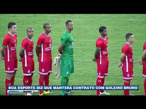 Boa Esporte decide manter contrato com o goleiro Bruno