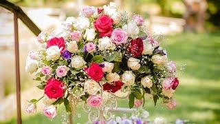 Создание свадебного оформления от Вальса цветов Скачать в HD