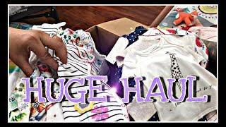 MASSIVE HAUL 4 REBORN DOLLS!!! *Next UK* So Much Baby Clothes!!!