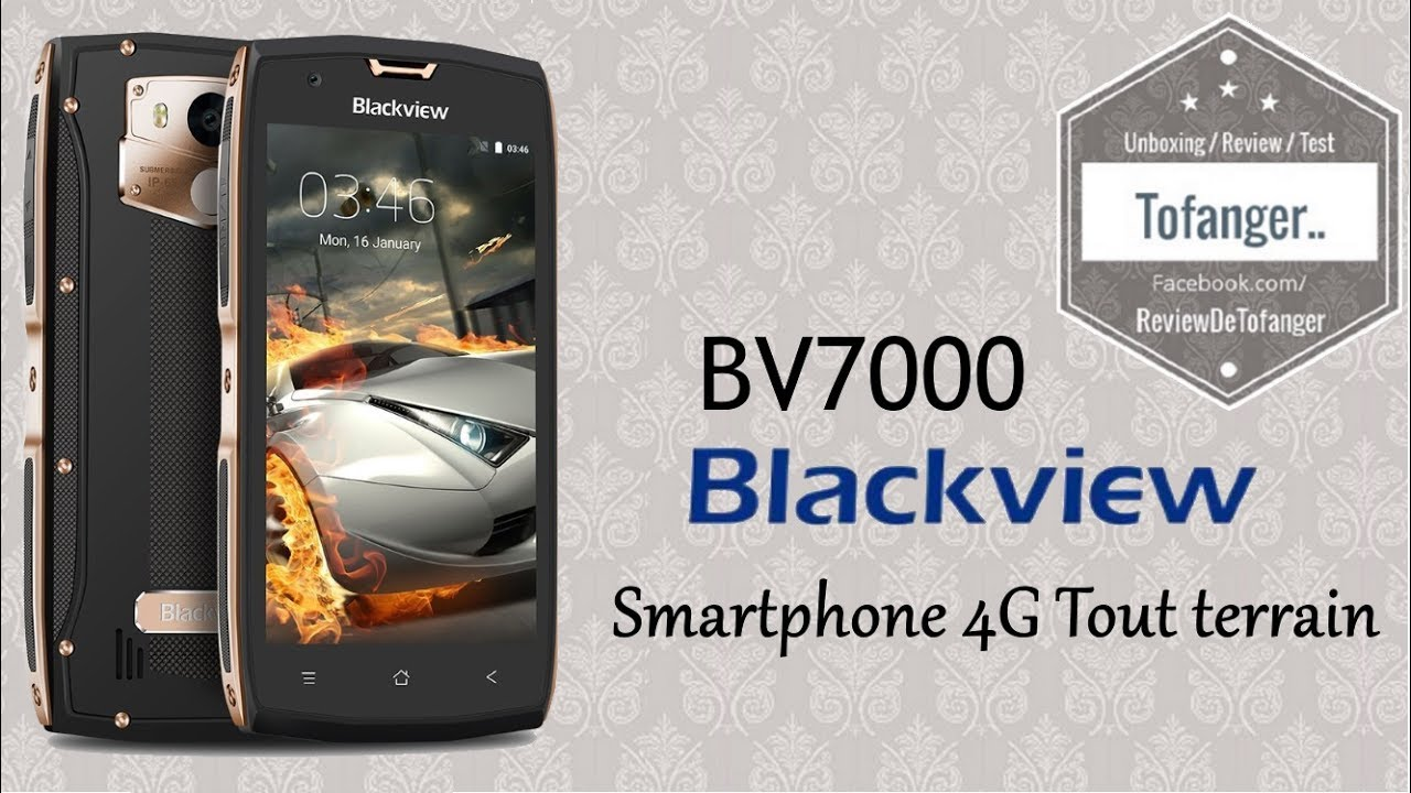 smartphone tout terrain le blackview bv7000 7000pro. Black Bedroom Furniture Sets. Home Design Ideas