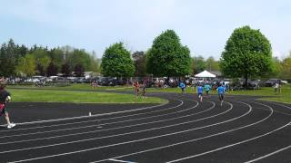 this is my 400 metre race at the regional track and field meet Cole8yrs Btw im 14 years old