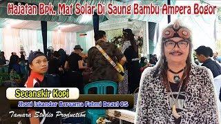 Jhonny iskandar Secangkir Kopi - Saung Bambu Ampera Bogor