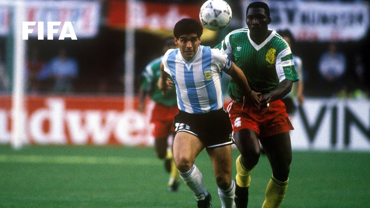 Download Argentina v Cameroon | 1990 FIFA World Cup | Full Match