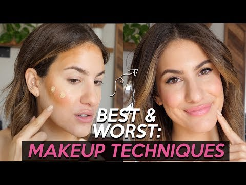 5 BEST & 5 WORST: MAKEUP TECHNIQUES | Jamie Paige - YouTube