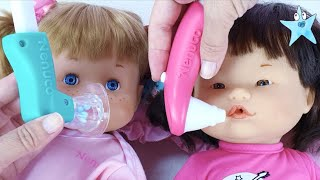 Ani y Ona se ponen enfermas las curo con el Nenuco Dolor de Garganta
