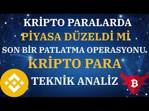 BİTCOİN PİYASASI DÜZELDİ Mİ/ETHEREUM/ALTCOİN/BİTCOİN/ANALİZ