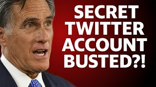 Mitty Romney's Secret Twitter Account. Pierre Delecto. BUSTED.