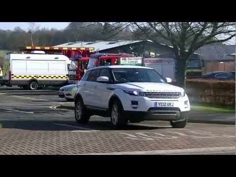 Station Managers Range Rover Evoque turns out to a RTC 17-02-2013
