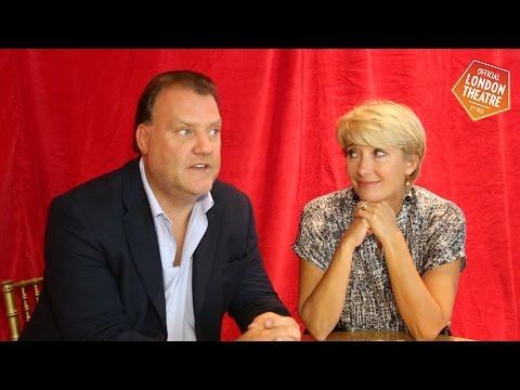 Sweeney Todd's Bryn Terfel & Emma Thompson talk to Official London Theatre