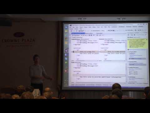 "Valdis Iljuconoks ""Lean Development with TFServices"""