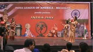 Assamese Bihu by AAMI in 2012 India Day in Detroit MI, USA