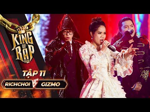 RICHCHOI - GIZMO kết hợp rap và opera BÓNG MA TRONG NHÀ HÁT cùng KHÁNH NGỌC | KING OF RAP Tập 11