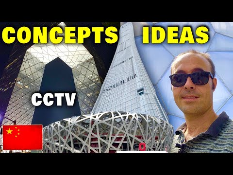 Architecture Concept Ideas Examples Explained simply in Beijing | China Vlog_15