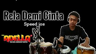 RELA DEMI CINTA ( THOMAS ARYA ) - Cover Kendang Rezon Nagata