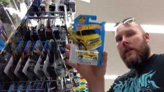 IN STORE Hot Wheels Hunting COME ALONG w/ GOOBERSPAD - a small Walmart in Cottage Grove Oregon 2015
