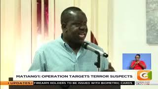 Gov't plans major operation targeted at flushing out criminal gangs
