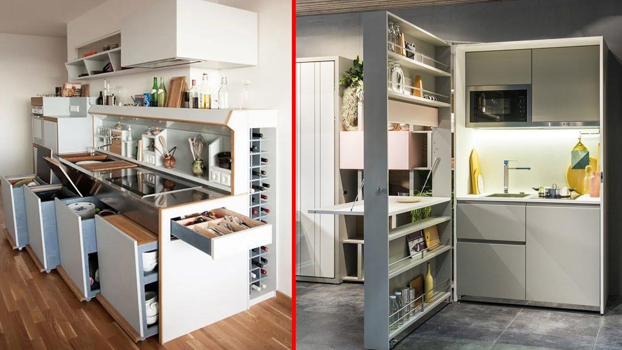 Fantastic Space Saving Kitchen Ideas And Kitchen Designs Smart Kitchen 3 Youtube