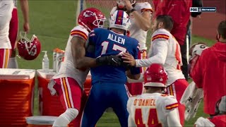 Chiefs Save Josh Allen From Dangerous Collision
