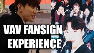 VAV FIRST FANSIGN EXPERIENCE