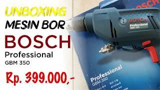 Bosch Bor Tangan Listrik Non Impact GBM 350 GBM350 350 WATT 10mm - Bor Bosch GBM 350 10 MM Bolak Balik