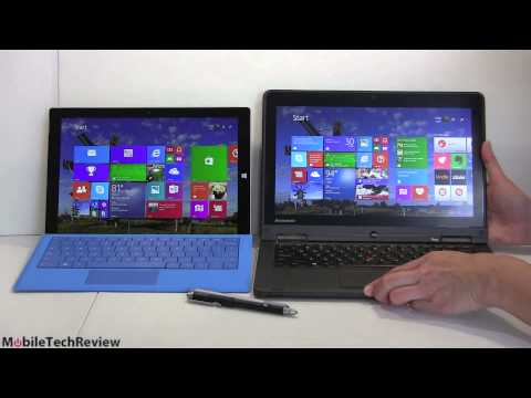 Microsoft Surface Pro 3 Vs. Lenovo ThinkPad Yoga Comparison Smackdown