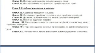 видео ГК РФ Глава 35
