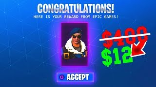 How To Get Royale Bomber Skin in FORTNITE For $12 Only...