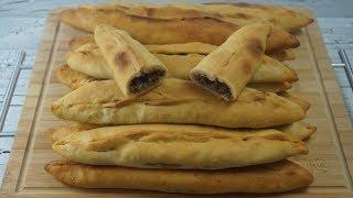 Bafra Pidesi Tarifi (Pide mit Hackfleischfüllung)