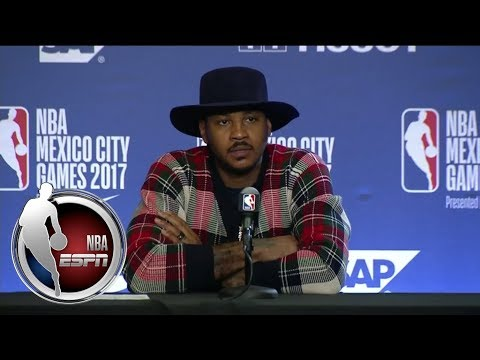 Carmelo Anthony reveals this is the roughest stretch in his career | ESPN