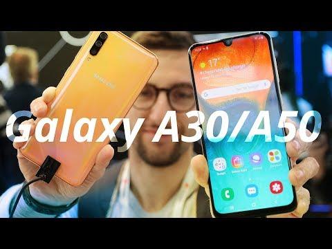 GALAXY A30 e A50 sono OTTIMI smartphone di fascia media - Anteprima