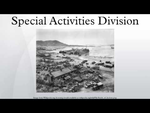 Special Activities Division