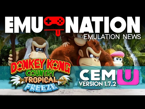 EMU-NATION: Wii-U Emulator FIXED Donkey Kong Tropical Freeze