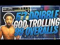 5'7 DRIBBLE GOD TROLLS 99 OVERALLS AT HIGHROLLERS ON 25K COURT😂! THEY GOT SO MAD NBA 2K18 RAGE😡