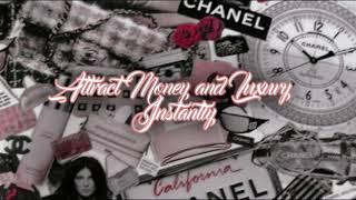 ✧・゚ ATTRACT MONEY AND LUXURY | POWERFUL MANIFESTATION SUBLIMINAL*✧・゚