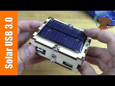 Solar USB 3.0 – A beefy DIY solar gadget charger