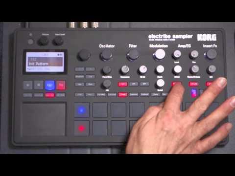 Korg Electribe Sampler hands-on
