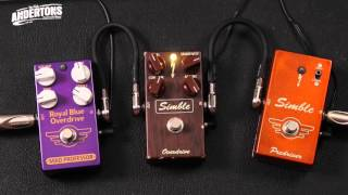 Guitar Paradiso - Mad Professor Pedals - Simble Pre Drive, Simble Overdrive, Royal Blue Drive