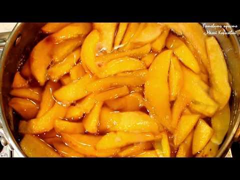 Варенье из айвы дольками с лимоном