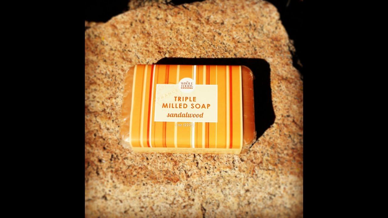 Whole Foods Triple Milled Sandalwood Soap