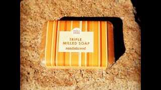 Whole foods Sandalwood triple milled soap Review