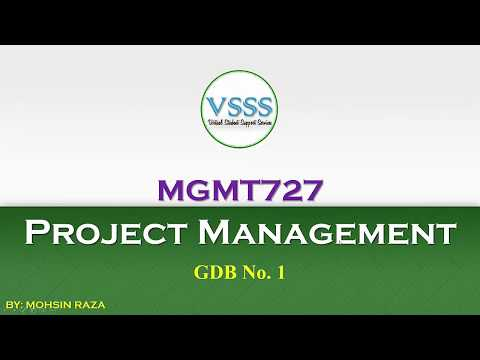 SOLUTION GDB No  1 (MGMT727 - Project Management) Spring