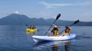 北海道で景色最高のカヤック!5年連続日本一の水質の湖(環境省)・支...