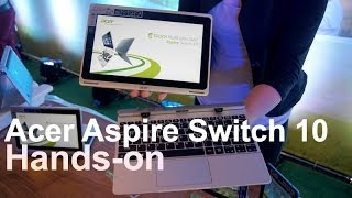 Hands-on: Acer Aspire Switch 10 Thumbnail